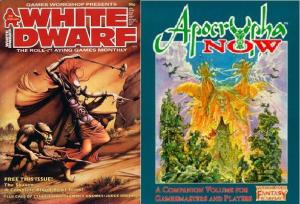 """""""Out of the Garden"""" appeared in WD86 and was reprinted (as """"Gnome PCs"""") in Apocrypha Now."""