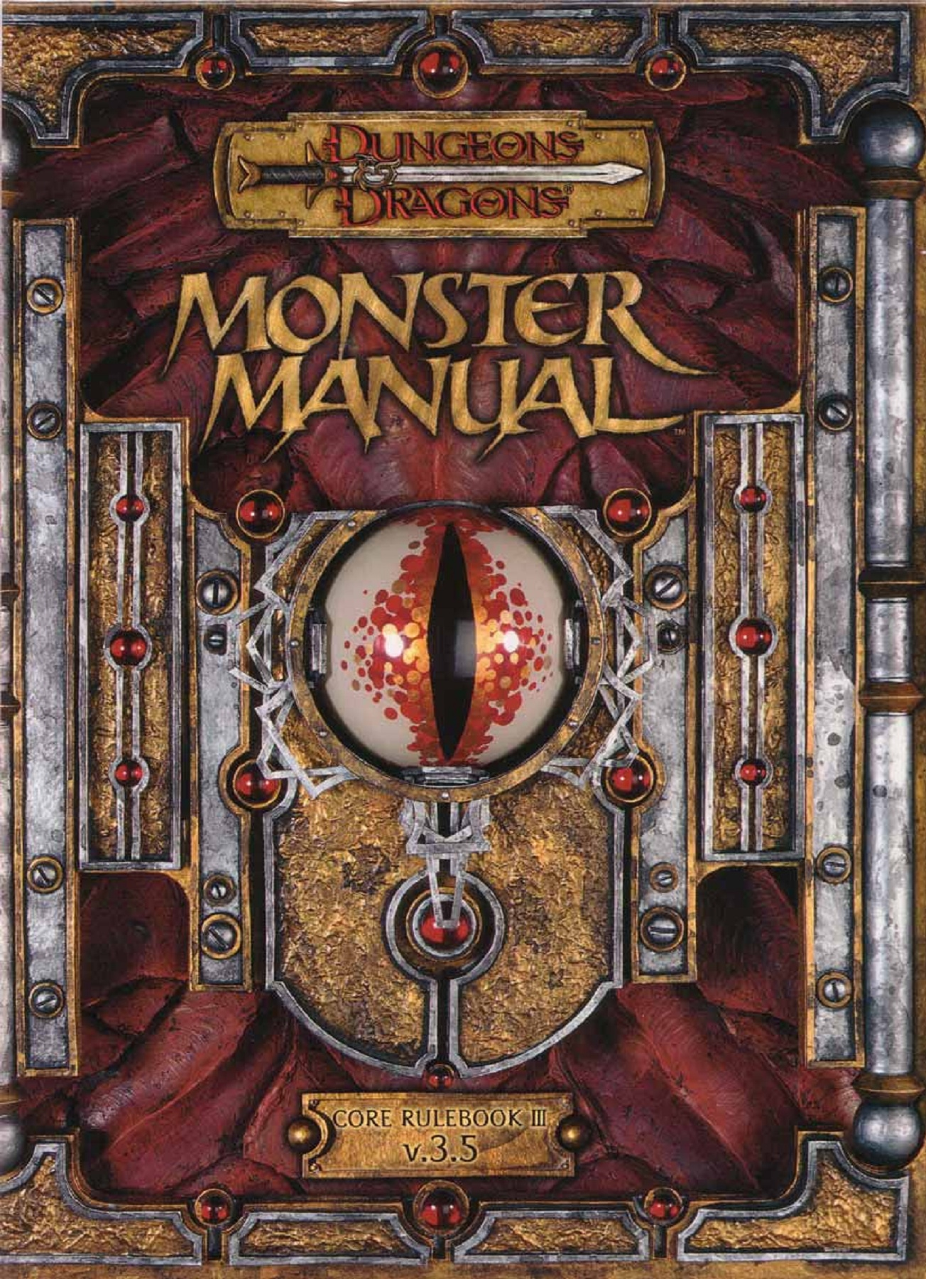 D&D Dungeons & Dragons Monster Manual tabletop roleplaying rpg monsters Wizards of the Coast TSR
