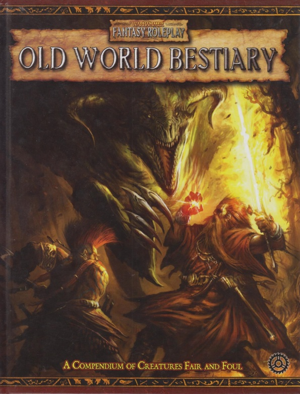 Warhammer Fantasy Roleplay Old World Bestiary 2nd edition tabletop roleplaying rpg WFRP momnsters