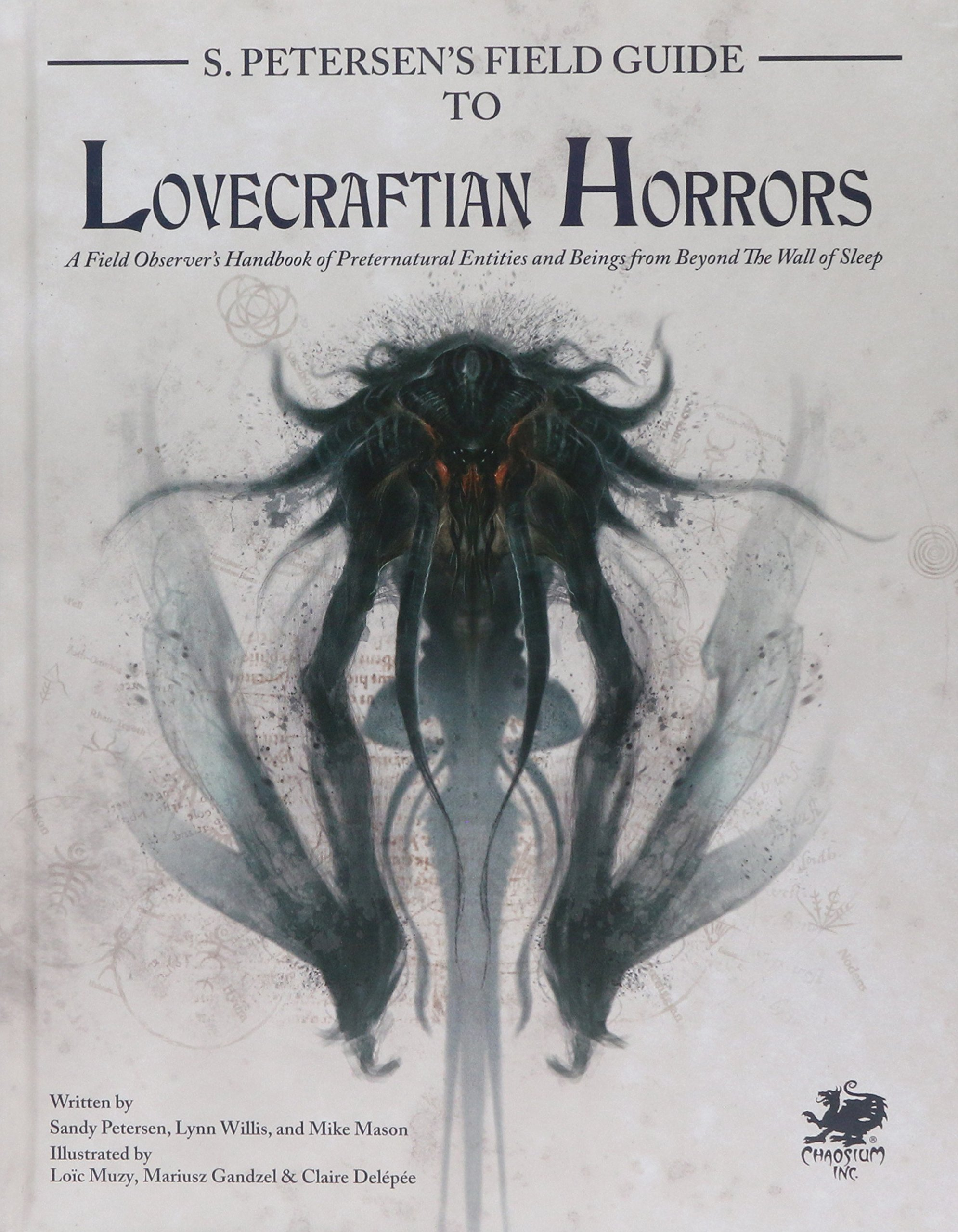 Petersen Chaosium, Cthulhu Mythos roleplaying tabletop rpg horrors monsters Lovecraft