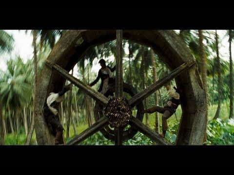 Pirates of the Caribbean: Dead Man's Chest - The Big Wheel Fight